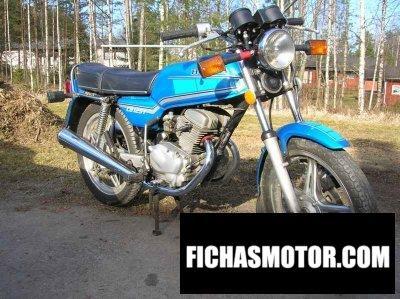 Ficha técnica Honda cb 125 t 2 1982