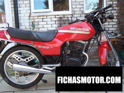 Ficha técnica Honda cb 125 t 2 1983