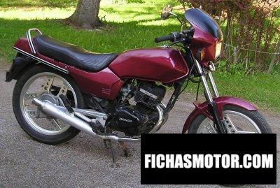 Ficha técnica Honda cb 125 t 2 1984