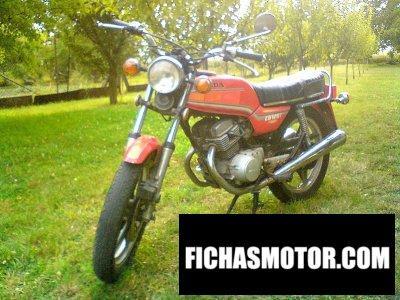 Imagen moto Honda cb 125 t 2 año 1985