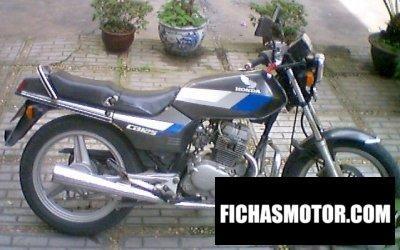 Imagen moto Honda cb 125 t 2 año 1986