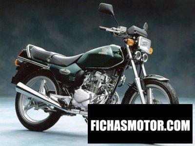 Ficha técnica Honda cb 125 t 2002