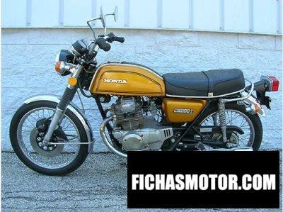 Ficha técnica Honda cb 200 1976
