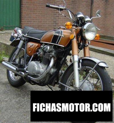 Imagen moto Honda cb 250 disc año 1974