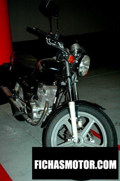 Ficha técnica Honda cb 250 f - cb 250 g 2000