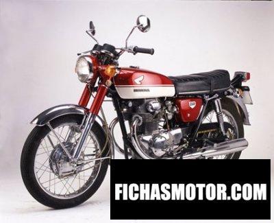 Imagen moto Honda cb 250 k 1 año 1970