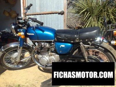 Imagen moto Honda cb 250 k 1 año 1971