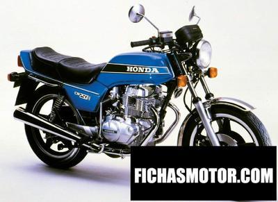 Imagen moto Honda cb 250 n año 1978