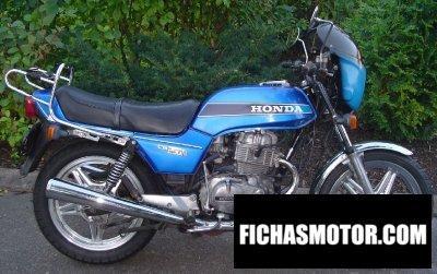Ficha técnica Honda cb 250 n 1979