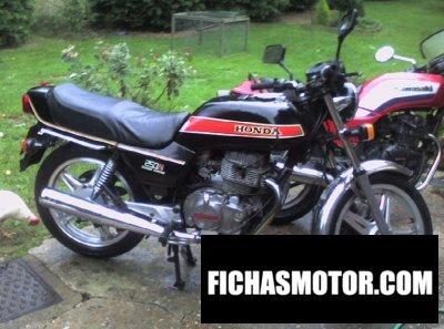 Ficha técnica Honda cb 250 n 1980