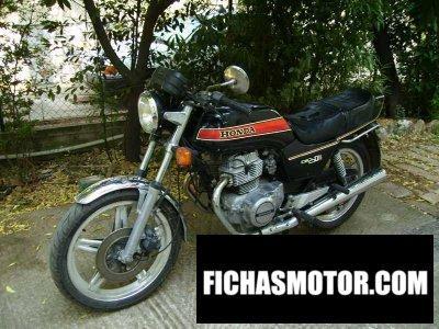 Imagen moto Honda cb 250 n año 1981