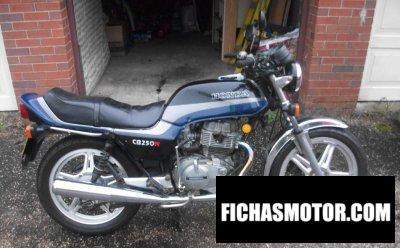 Imagen moto Honda cb 250 n año 1982
