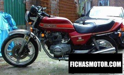 Ficha técnica Honda cb 250 n 1983
