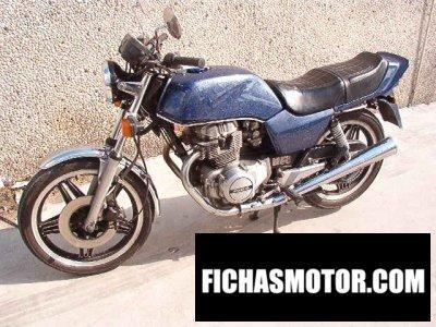 Ficha técnica Honda cb 250 n 1986