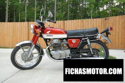 Ficha técnica Honda cb 350 1970
