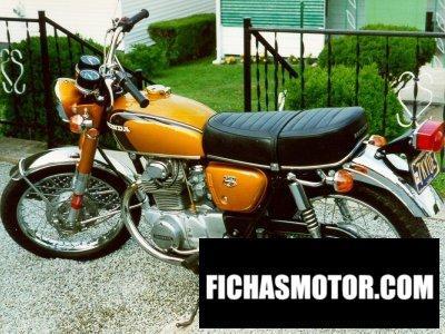 Ficha técnica Honda cb 350 1971