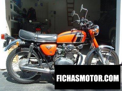 Imagen moto Honda cb 350 año 1972