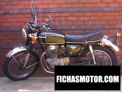 Imagen moto Honda cb 350 año 1973