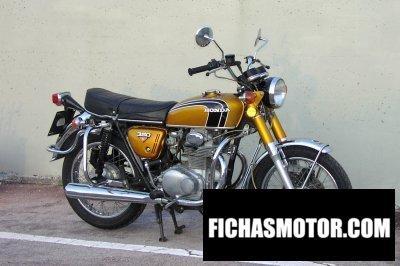 Imagen moto Honda cb 350 disc año 1974