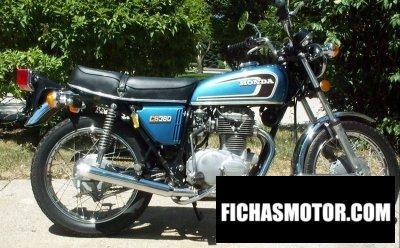 Ficha técnica Honda cb 360 1974