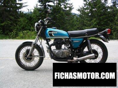 Imagen moto Honda cb 360 g año 1975
