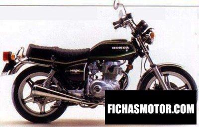Imagen moto Honda cb 400 a año 1978