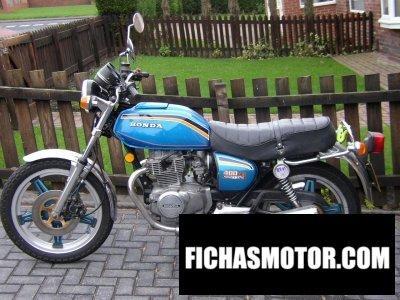 Ficha técnica Honda cb 400 a 1979