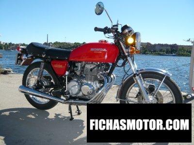 Imagen moto Honda cb 400 f año 1975