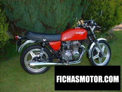 Ficha técnica Honda cb 400 f 1976