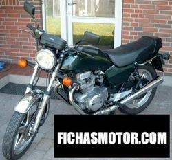 Imagen moto Honda cb 400 n 1979