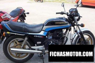 Ficha técnica Honda cb 400 n 1981