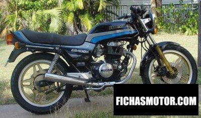 Ficha técnica Honda cb 400 n 1982