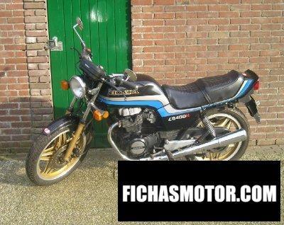 Imagen moto Honda cb 400 n año 1983