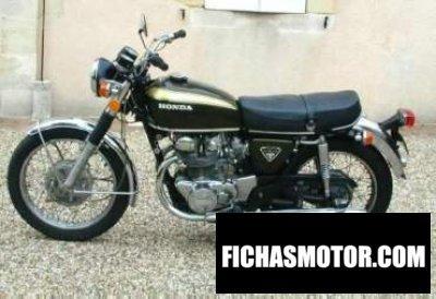 Ficha técnica Honda cb 450 disc 1972