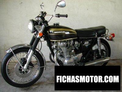 Imagen moto Honda cb 450 disc año 1973