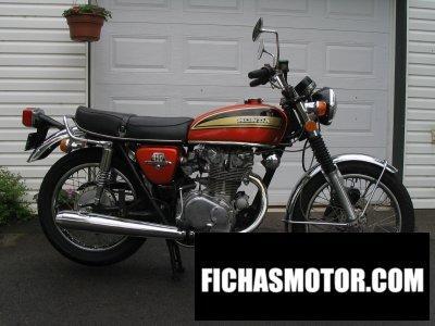 Imagen moto Honda cb 450 disc año 1975