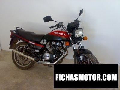 Ficha técnica Honda cb 450 dx 1988