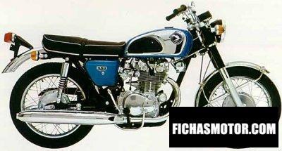Imagen moto Honda cb 450 k 1 año 1970