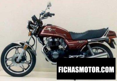 Imagen moto Honda cb 450 n año 1984