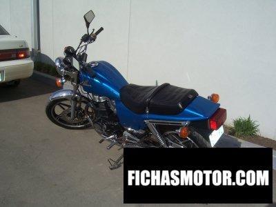 Imagen moto Honda cb 450 n año 1985