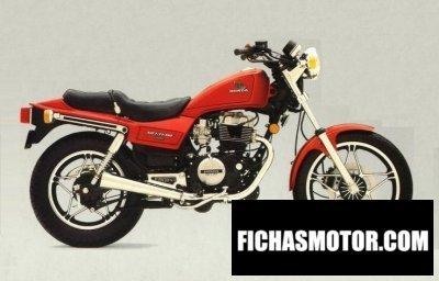 Ficha técnica Honda cb 450 n 1986