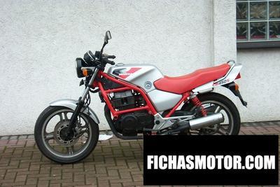 Ficha técnica Honda cb 450 s 1989
