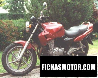 Ficha técnica Honda cb 500 1997