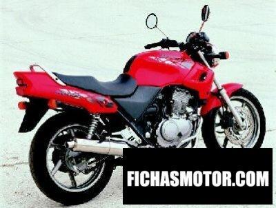 Imagen moto Honda cb 500 año 1998