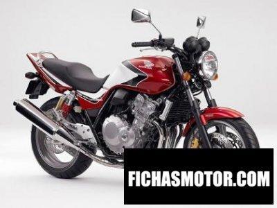 Ficha técnica Honda cb 500 1999