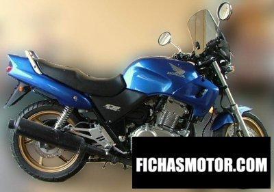Ficha técnica Honda cb 500 2000