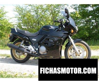 Ficha técnica Honda cb 500 2001