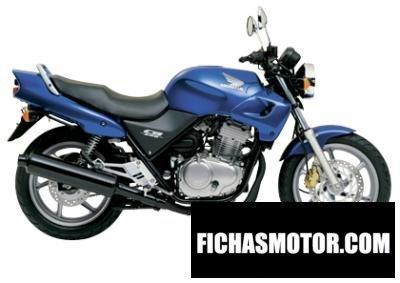 Imagen moto Honda cb 500 año 2002
