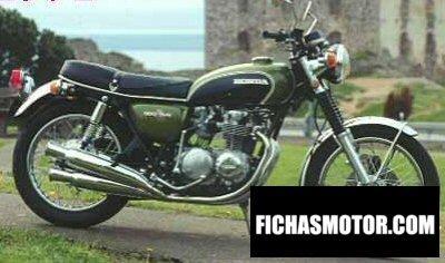 Imagen moto Honda cb 500 f año 1972