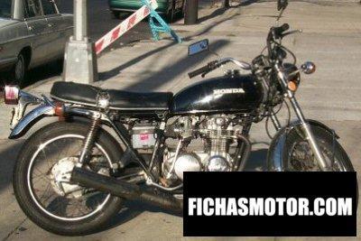 Imagen moto Honda cb 500 f año 1973